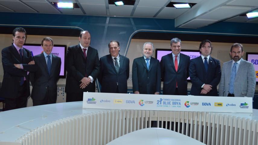 El XXI Torneo Nacional alevín Blue BBVA viaja hasta Perú