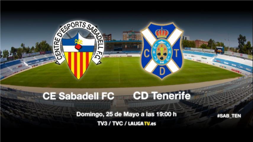 Sabadell y Tenerife quieren seguir soñando