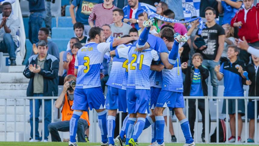 El Sabadell sigue sumando