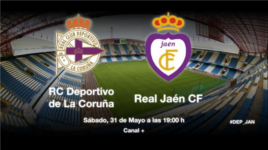 El Deportivo busca el ascenso ante el Jaén