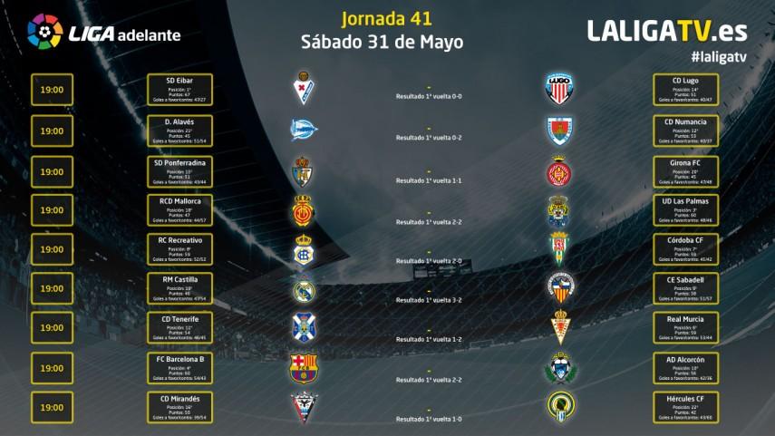 La Liga Adelante se vive en La Liga TV