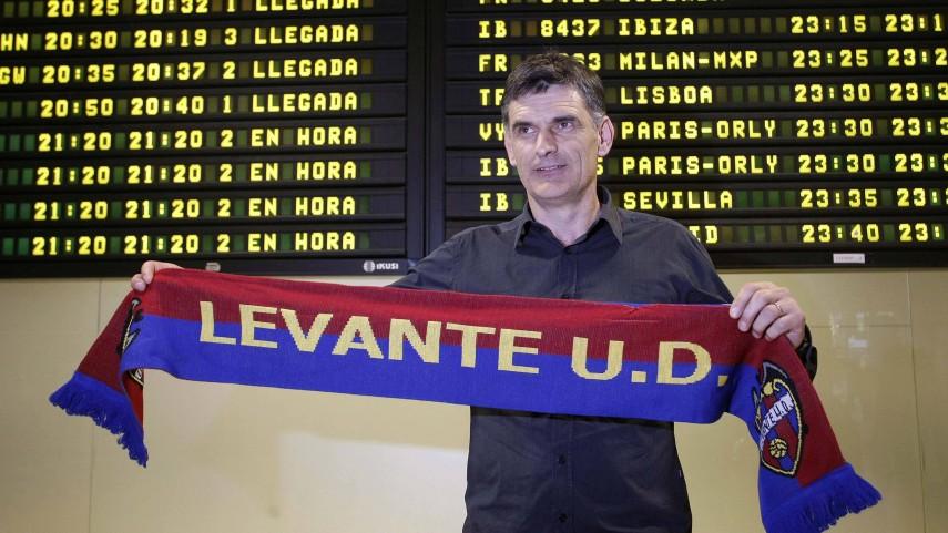 Mendilibar ocupará el banquillo del Levante