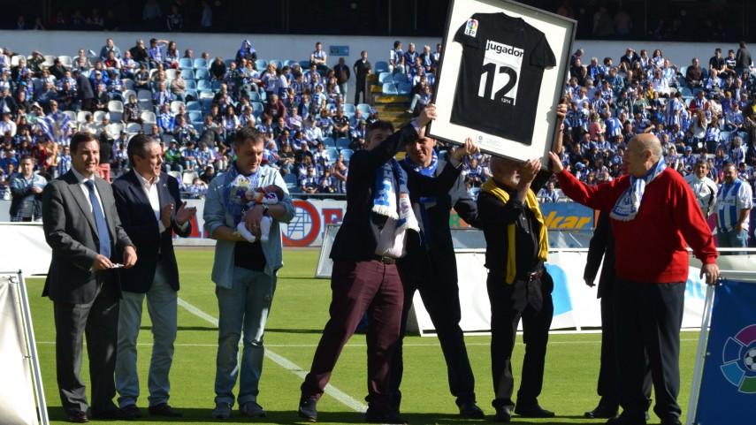 La afición del Deportivo, premio 'Jugador número 12'