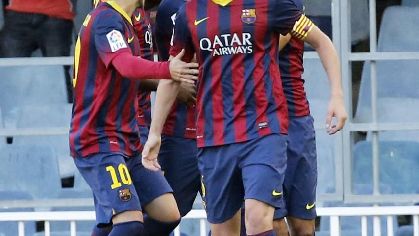 El Barcelona B deleita al Miniestadi