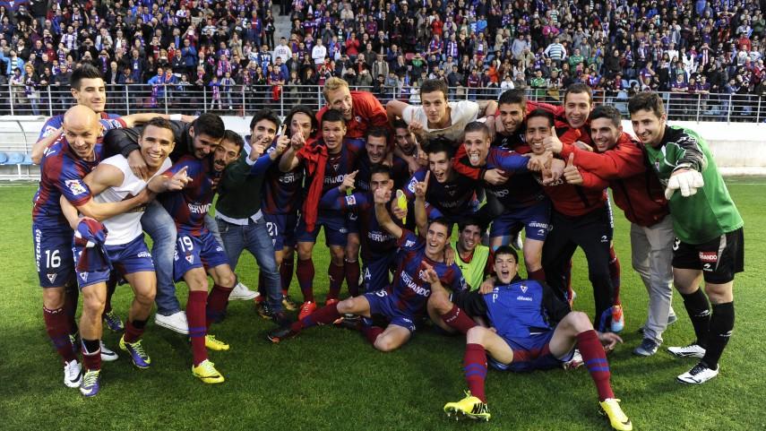 El Eibar conquista la Liga Adelante