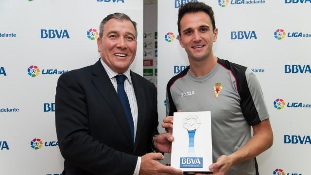 Kike García, mejor jugador de la Liga Adelante en mayo