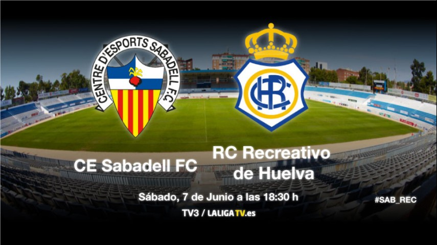 Sabadell y Recreativo, en busca del play-off