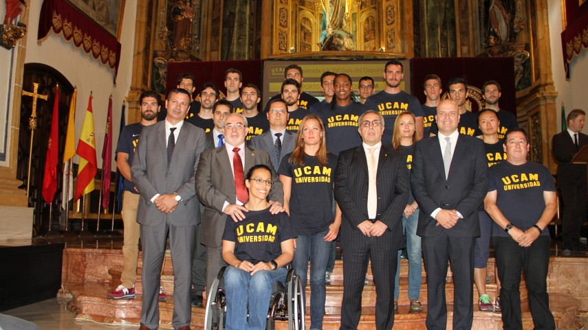 La UCAM celebró su XVI Gala del Deporte