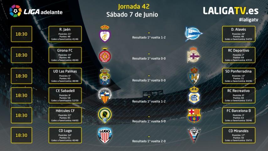La Liga Adelante se decide en La Liga TV