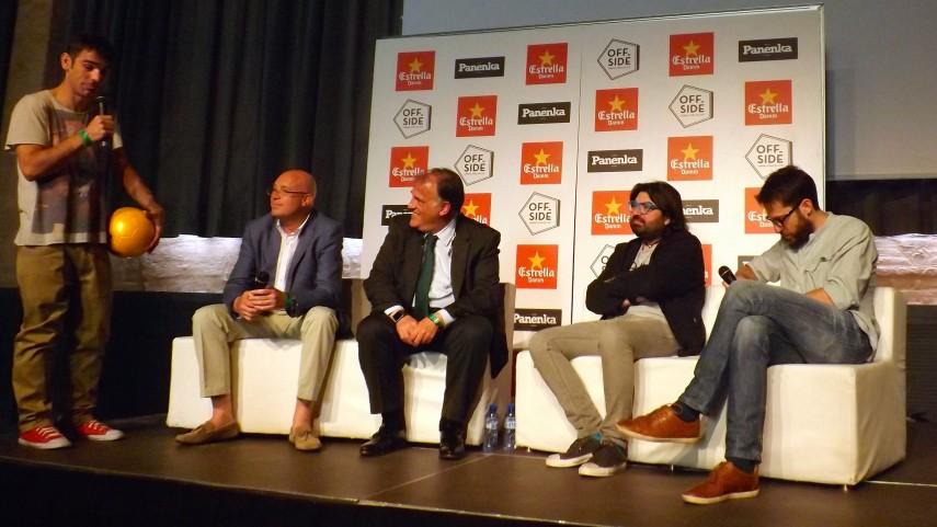 Tebas participa en el OffSide Festival