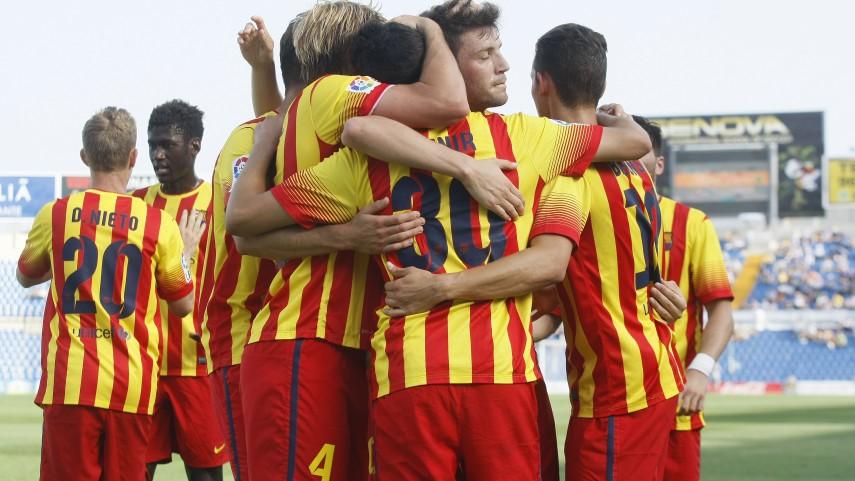 El Barcelona B cierra con triunfo su gran año
