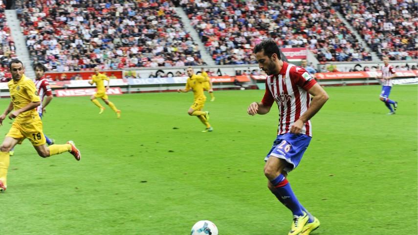 Álex Menéndez, baja en el Sporting