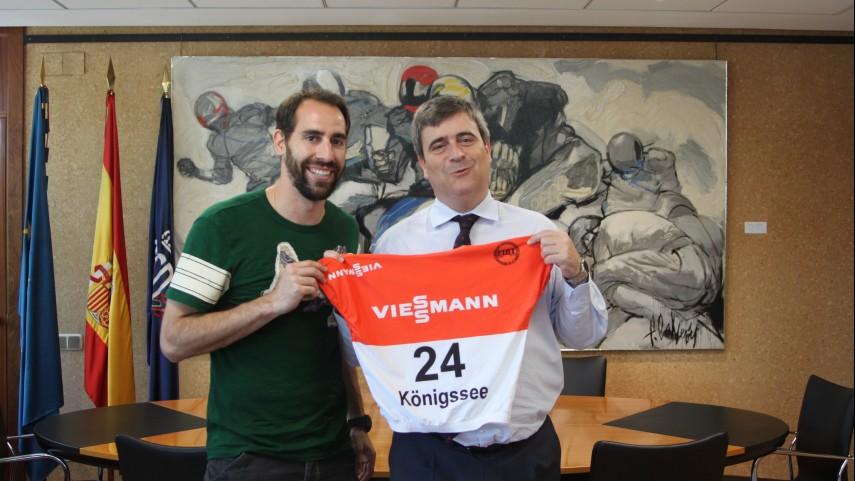 Ander Mirambell informó al CSD de la Gira LFP World Challenge