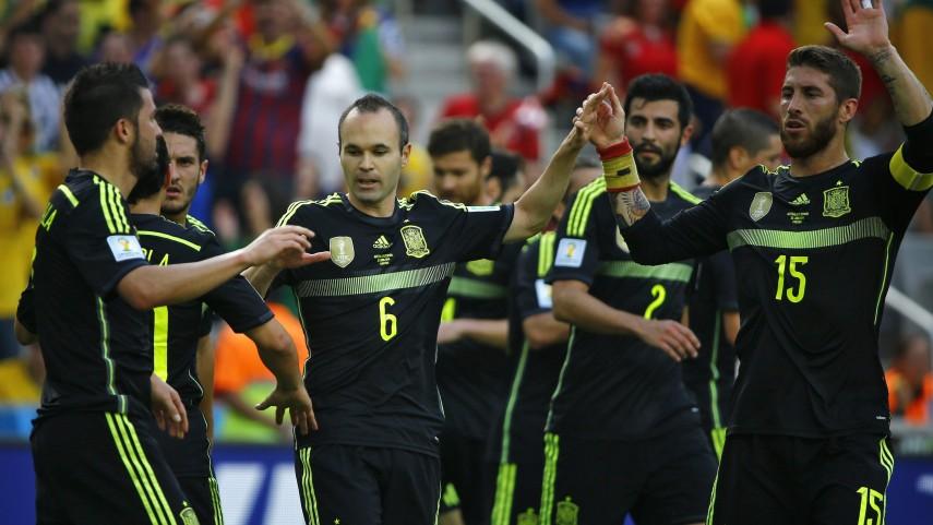 España se despide del Mundial con victoria