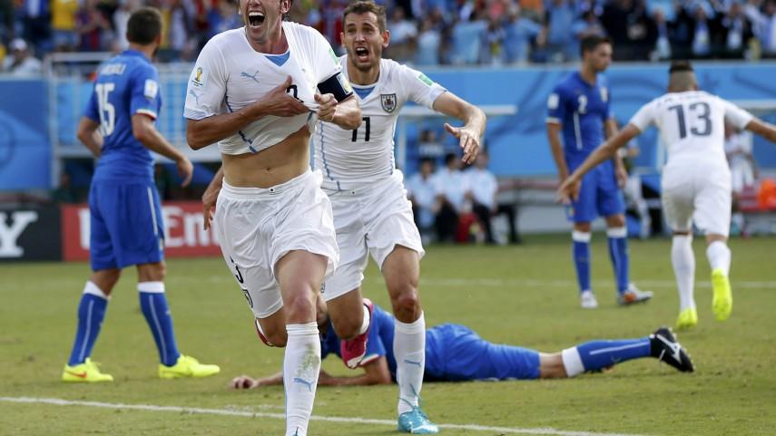 El espíritu del Atlético comanda a Uruguay