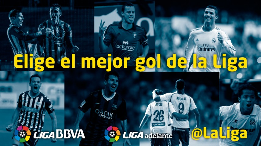 'El mejor gol de la Liga'