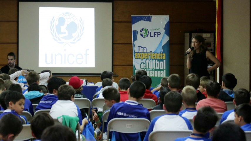 UNICEFvisitaelCampusLFP