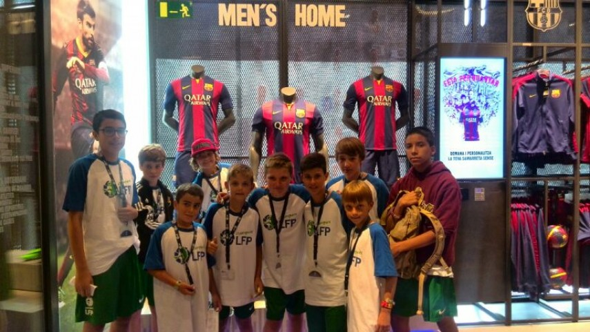 El Campus LFP, de visita en el Power8 Stadium y el Camp Nou