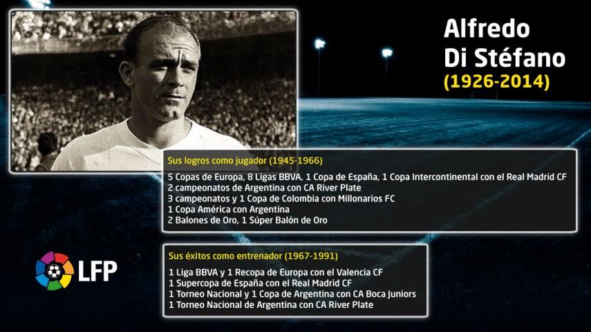 Di Stéfano, the memory of an eternal legend