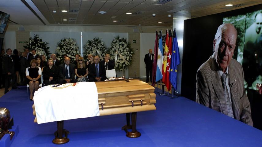 El último adiós a Di Stéfano