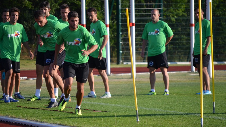 La selección AFE ultima su preparación para el torneo FIFPro