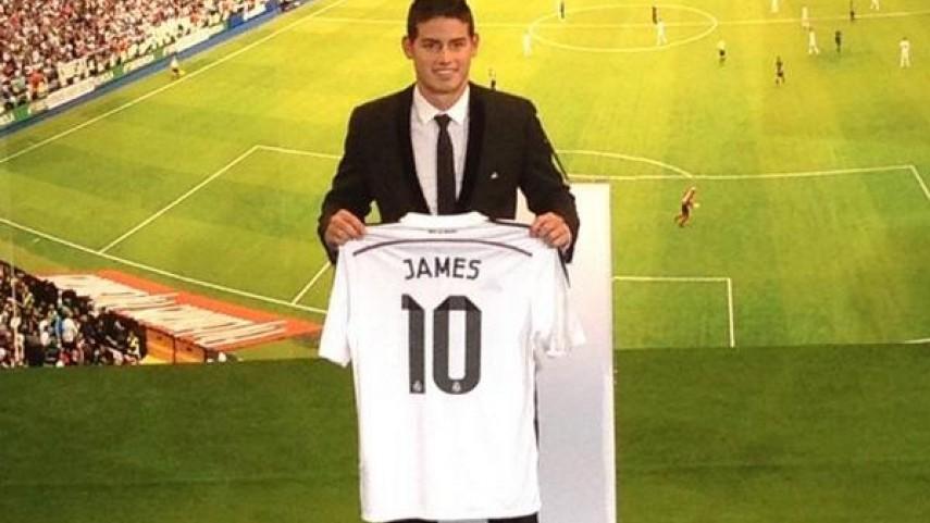 James Rodríguez, más talento para el Real Madrid