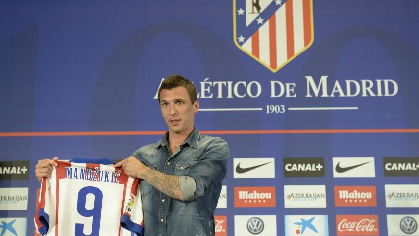 """Mario Mandžukić: """"Estoy muy contento de estar aquí"""""""