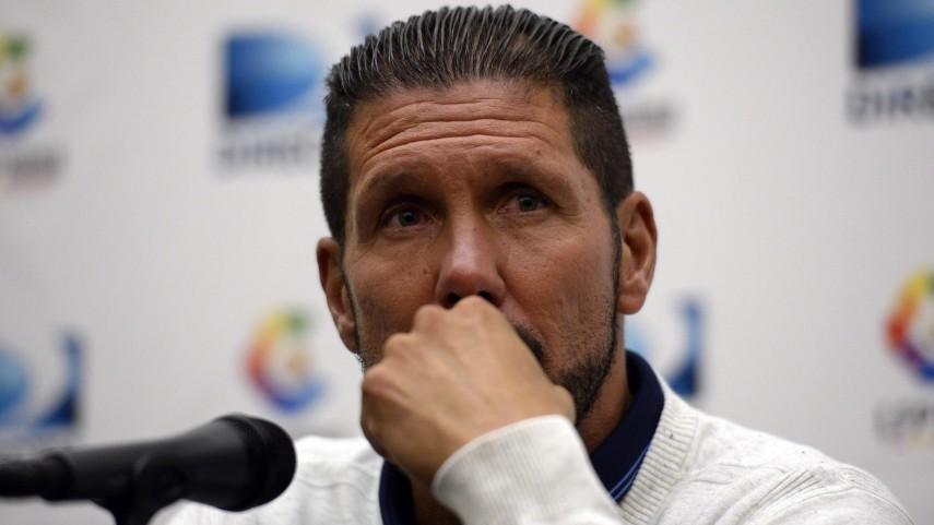 Simeone, satisfecho con el rendimiento del Atlético