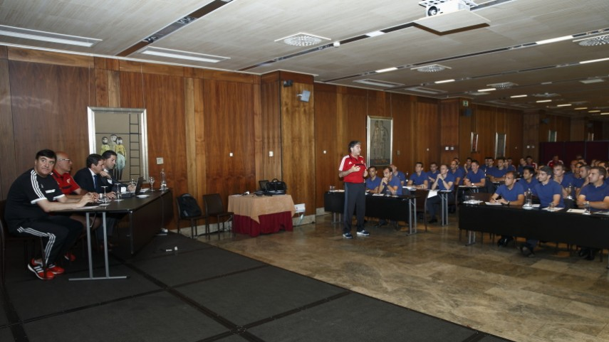 La LFP, presente en la concentración anual de árbitros de la Liga BBVA