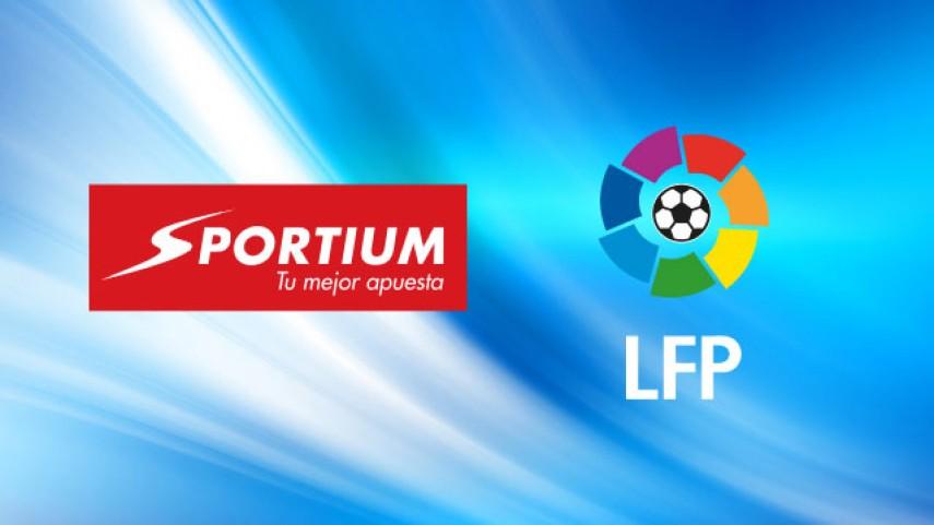 Sportium se convierte en casa de apuestas oficial de la Liga