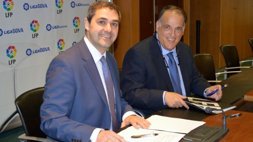 La LFP firma un acuerdo de venta de datos estadísticos con SIS