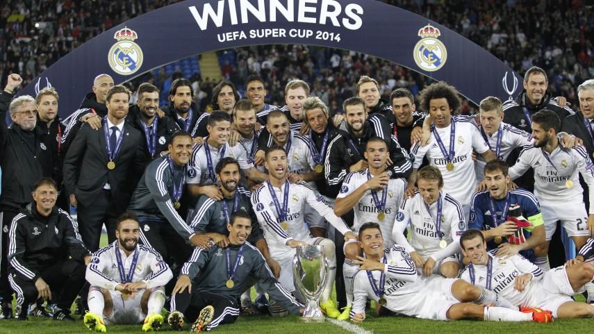 El Real Madrid conquista su segunda Supercopa de la UEFA