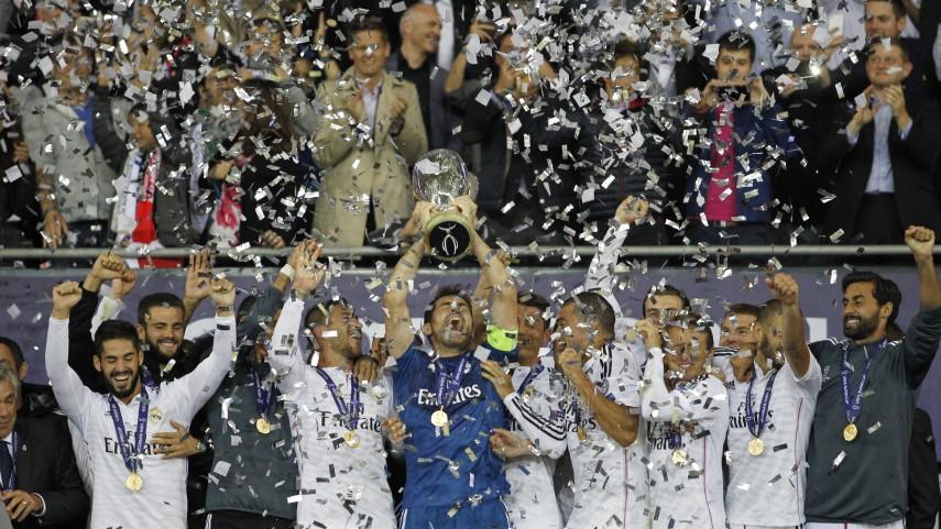 Supercopa de la UEFA, con denominación de origen España
