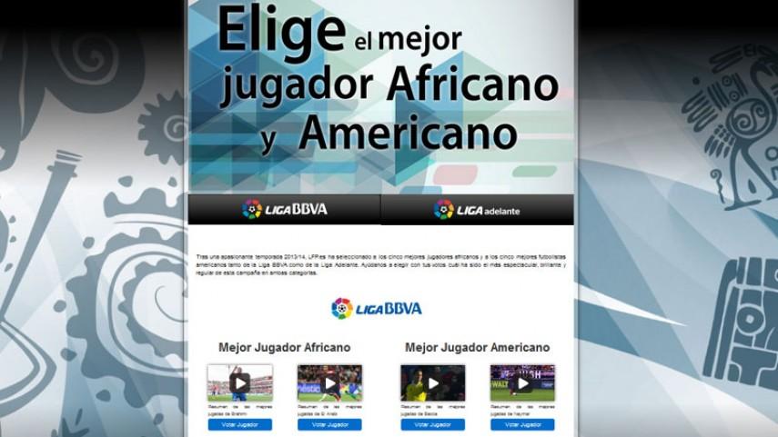 'El mejor jugador africano y americano de la Liga 2013-14'