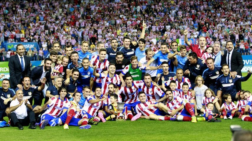 El Atlético, campeón de la Supercopa de España
