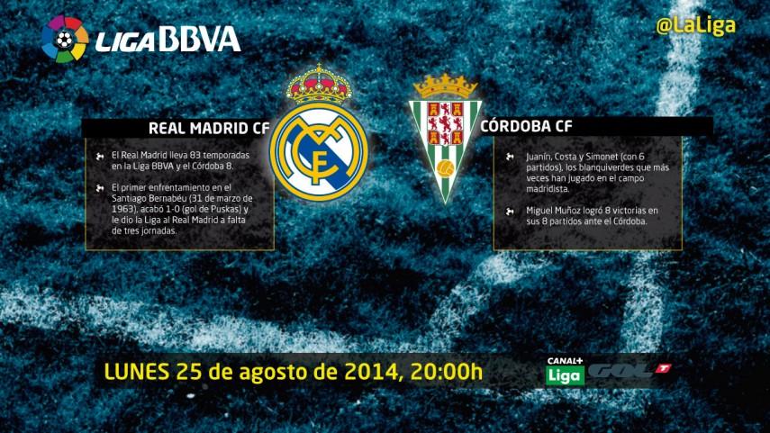 El Córdoba vuelve a la Liga BBVA ante un rival de ensueño