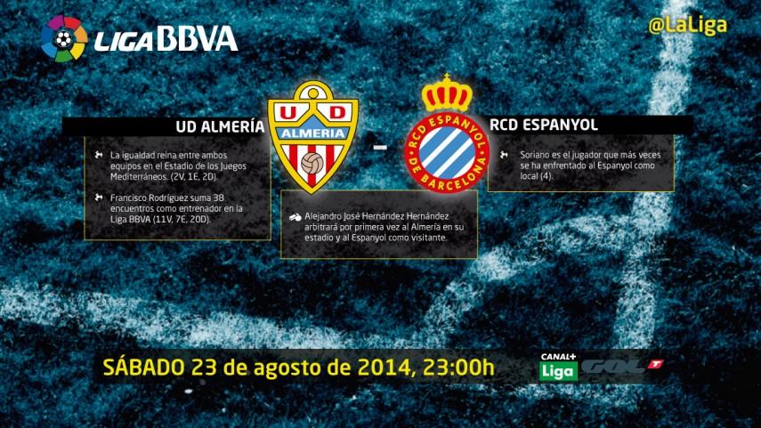 Almería y Espanyol, con ilusiones renovadas