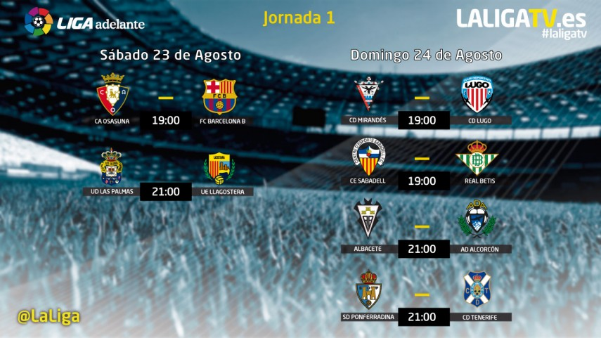 No te pierdas la Liga Adelante en La Liga TV