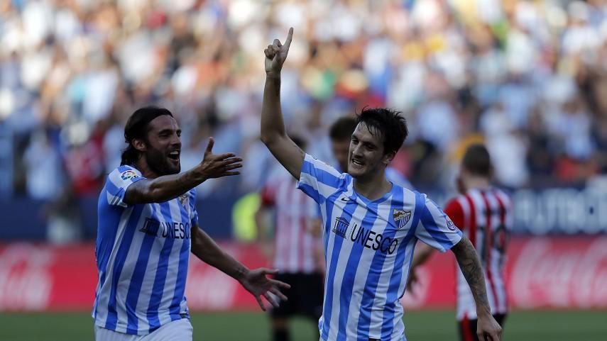 El Málaga se estrena con victoria en La Rosaleda