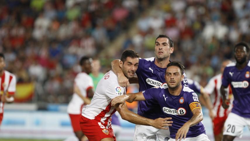Sergio García salva un punto para el Espanyol