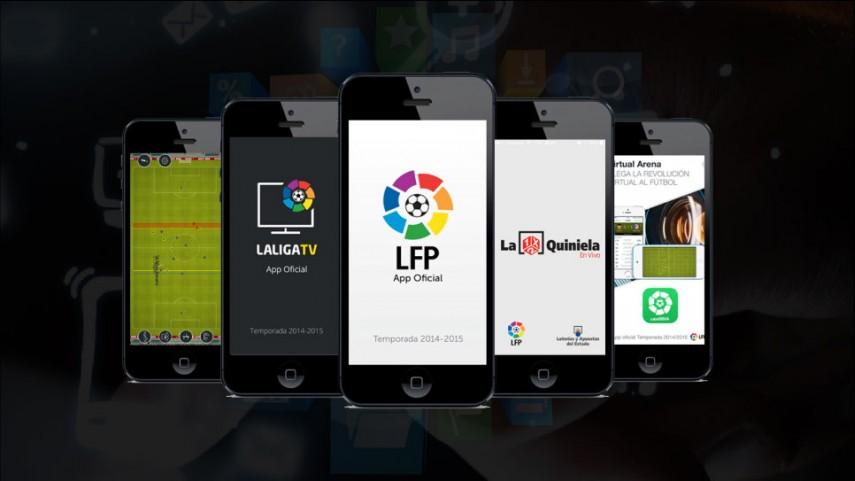 ¡Descárgate las nuevas App de La Liga!