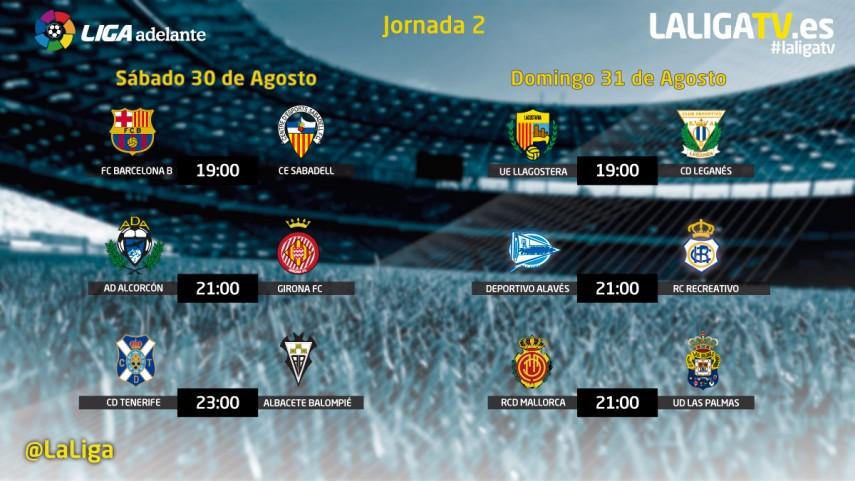 Jornada apasionante en La Liga TV