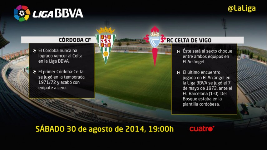 La Liga BBVA vuelve al Nuevo Arcángel