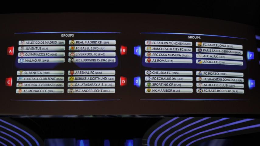Los equipos españoles ya conocen a sus rivales en la Champions League
