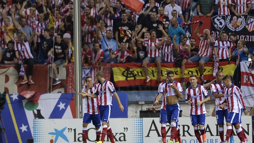 El Atlético frena a un combativo Eibar