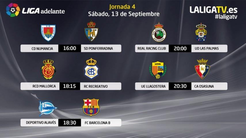 Liga Adelante, previa de los partidos del sábado