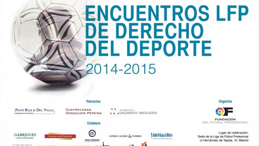 Vuelven los encuentros LFP de Derecho del Deporte