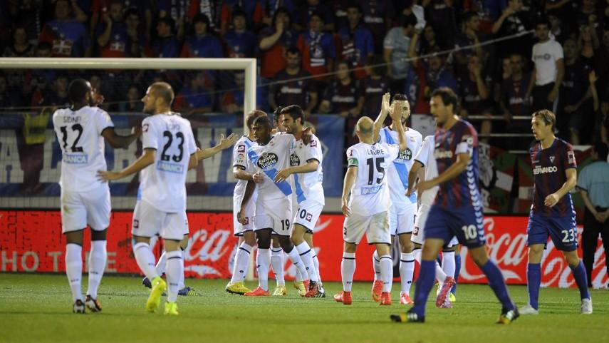 El Deportivo gana la batalla en Ipurua