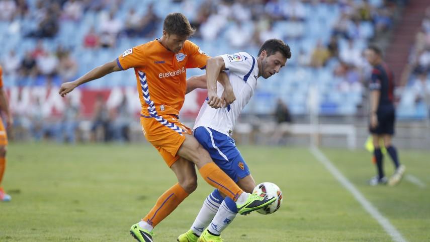 Primeros tres puntos para el Zaragoza