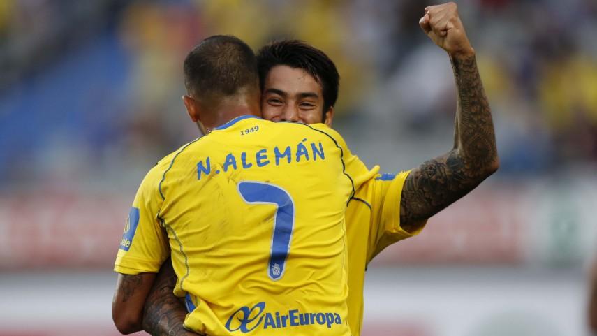 Recital de goles en el Estadio Gran Canaria